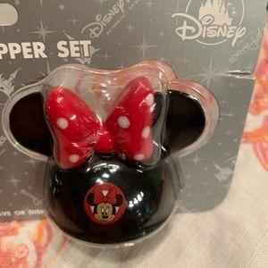 Disney Other - Disney Mickey and Minnie salt shakers